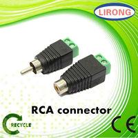 RCA audio stereo jack plug