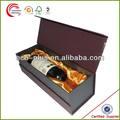singular de cartón de regalo cajas de vino para la fabricación de vasos