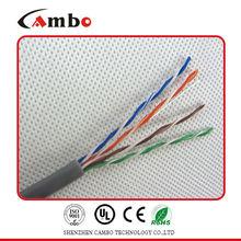 An Aluminum-Mylar Tape Network PVC Cat5 FR/PVC or LSOH Jacket