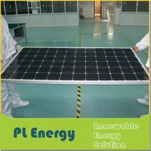 250w cheap china OEM monocrystalline sunpower solar panel