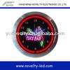 Custom Wall Mounted Neon Clock