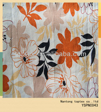 beautiful floral printed cotton fabric