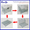 most popular heavy duty friut folding steel storage cage mesh pallet cage