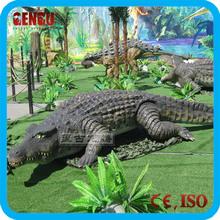 Animal theme park high quality remote control alligator