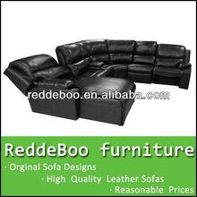 Top de couro de alta volta madeira maciça sofá quadro #8203