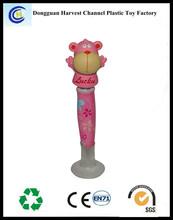 Promotional gift plastic cartoon animal ballpoint pen