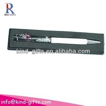 Crystal pen white ballpoint pen KDBP024