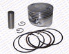 63.5MM 15MM Piston Kit Rings 200CC Lifan ZongShen Kaya Xmotos Apollo orion Loncin kids dirt bikes Parts