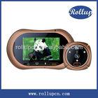 Wifi peephole video door phone, 3G video intercom door viewer, wireless digital video doorbell camera