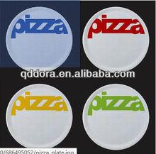 dish pizza,colorful ceramic pizza plates,cheap bulk porcelain appetizer plate