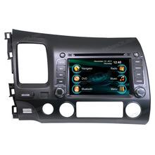 multi-media car dvd gps navigation system for Honda Civic LHD
