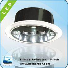 Par30 reflector decorative recessed lighting trim for 5 inch fixture