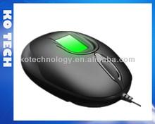 USB Fingerprint Optical Mouse KO-GT18
