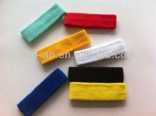 solid color elastic cotton headband custom