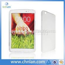 Anti-slide soft frosted tpu skin case cover for lg g pad 8.3 v500