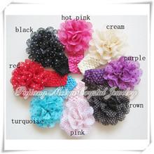 Peony flower Kids crochet baby headband