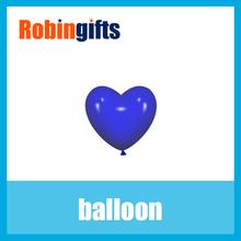 Custom lovely blue heart balloon