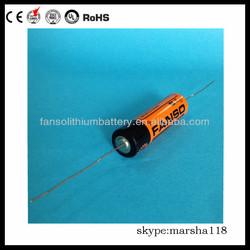 ER14505M high voltage aa battery 3.6v for Beacons, Buoys, Life Jacket Lights, Oil Drilling, Seismic Sensors