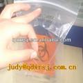 la muestra de bolso de la cremallera con bolsa pequeña para la enfermedad