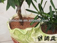 indoor green plant fertilizer clay pellet soil