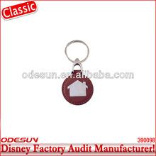 Disney factory audit manufacturer's wood keychain 142092