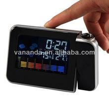 Super alarm clock led digital clock weather forecast clock cheap wholesale