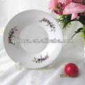 """8"""" prato de porcelana, prato de sopa cerâmica em cores, pratos de porcelana moderna"""