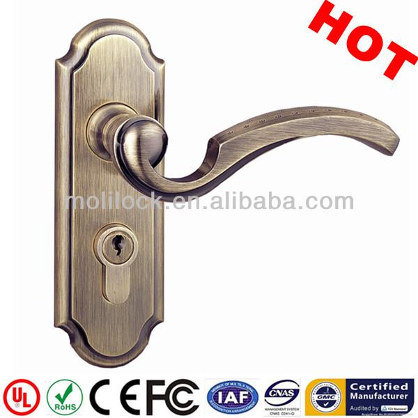 Commercial door lock bathroom deadbolt door lock dimple design handle door lock view wireless - Commercial bathroom door handle ...