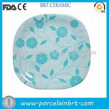 Glazing White Porcelain Dinner Plate Salad Plate
