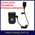 Hd pilote enregistreur Mini DVR caméra de Police Portable DVR caméra