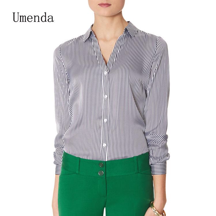 Ladies Formal Blouse Designs - Long Sleeved Blouse