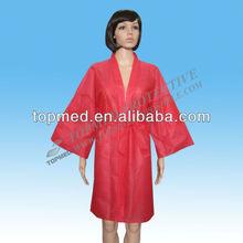 Non-woven sauna clothes/hairdressing suits/ kimono