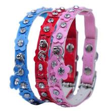 Dog collar with metal buckles