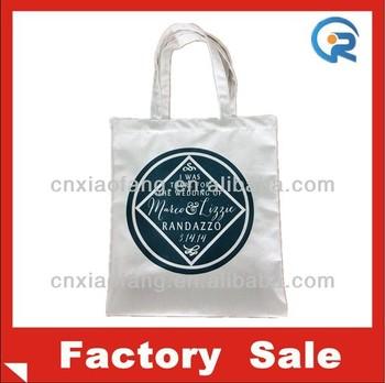 Customized plain natural cotton canvas tote bag/cotton bag