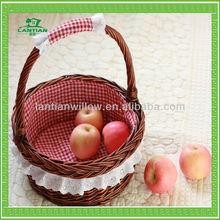 wholesale cheap wicker fruit basket