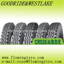 Radial truck tire brand GOODRIDE and WESTLAKE