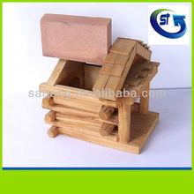 2014 Saitong Craft Beautiful wooden bird house