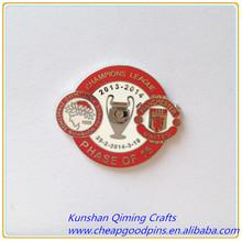 imitation cloisonne champion lapel pin badge stainless steel