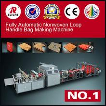 Automatic PP woven box bag making machine/shopping bag making machine