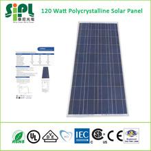 Smart Home Green Products! 120Watt Polycrystalline Solar Panel