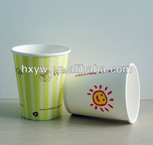 Smile sun disposable paper cup