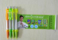 2014 Whpolesale professional retractable cheap banner pen ballpoint pen