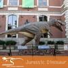 Outside Natural Science University Animatronic Dinosaur T-rex