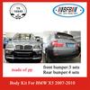 body kit for bmw x5 auto accessories 2007-2010