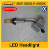 Top sale led headllight 40W 3800LM auto leveling headlight
