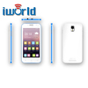 4.5 inch Dual Core cheap android 3G smart phone M1 Dual SIM Qualband Wifi FM MP3/MP4 Bluetooth