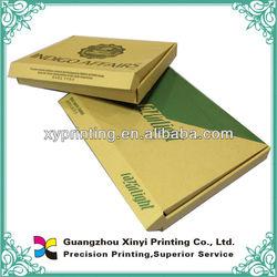 Black printed brown cardboard shipping corrugated boxes