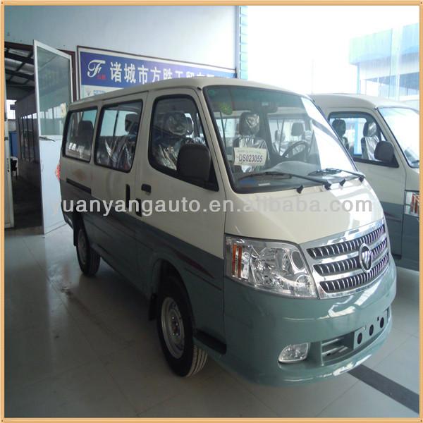 14 asientos Diesel Foton minibús / Mini Van