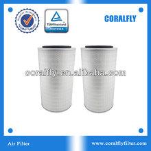 hot sale AF25452 air filter used in Excavator, Bus