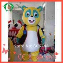 Hi EN71 engraçado agente especial Oso traje da mascote para adulto